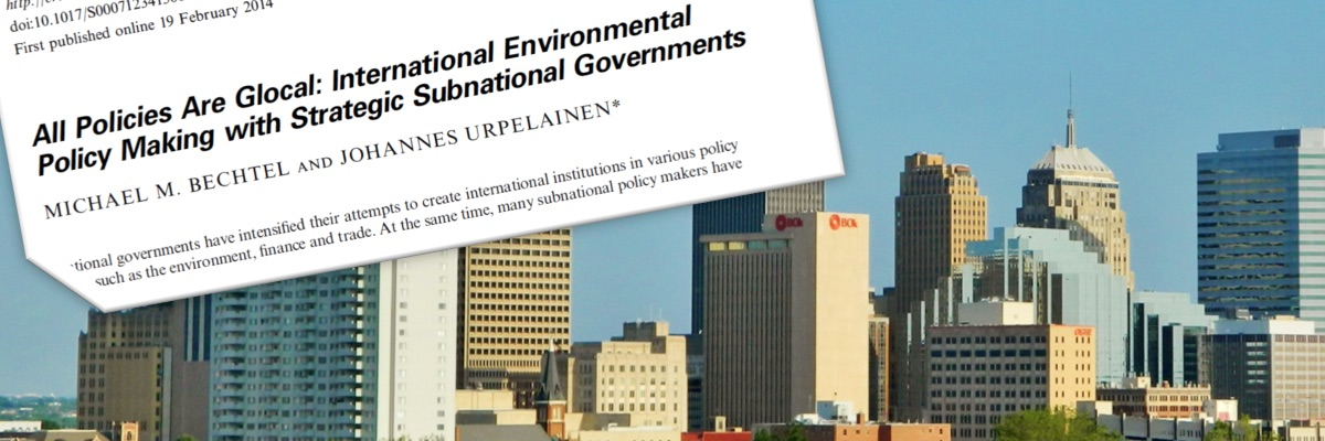 Multi-level Politics: Bottom-up Initiatives and International Agreements
